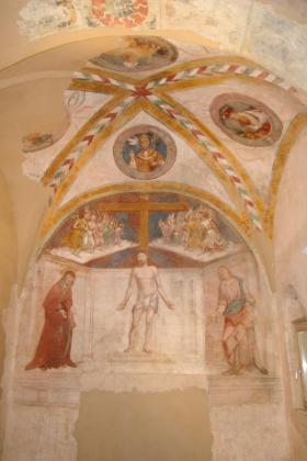 Ripresa generale degli affreschi dell'abside