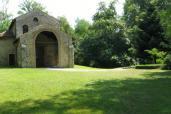 Castelseprio - Il contesto boschivo di S. Maria foris portas nel Borgo