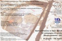 VI Campagna di scavi a Santa Cristina in Caio (Buonconvento)