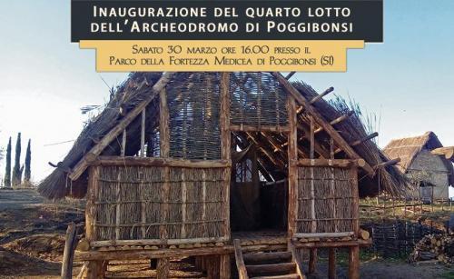 Archeodromo di Poggibonsi, inaugurazione del IV lotto