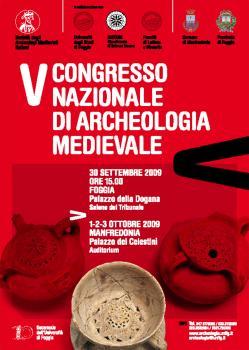 V Congresso Nazionale di Archeologia Medievale