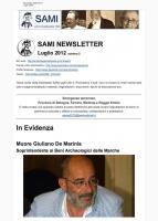 SAMI Newsletter - luglio 2012