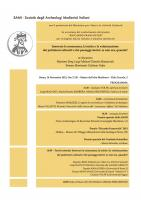 Cerimonia di conferimento del premio Riccardo Francovich 2013