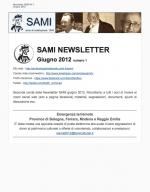 SAMI Newsletter - giugno 2012