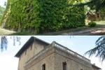 Alcuni particolari della fattoria di Piana prima e dopo l'eliminazione delle pia