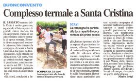 Complesso termale a Santa Cristina - La Nazione Siena