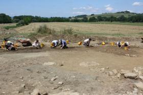 Visita al sito archeologico di Santa Cristina per gli ''Amici di Buonconvento''