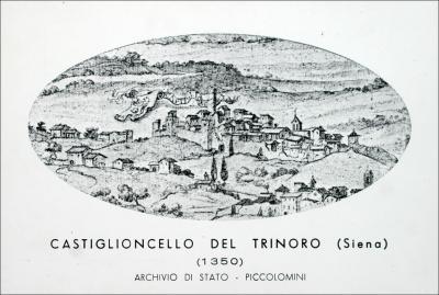 Castiglioncello del Trinoro, 1350 (Archivio di Stato di Siena)